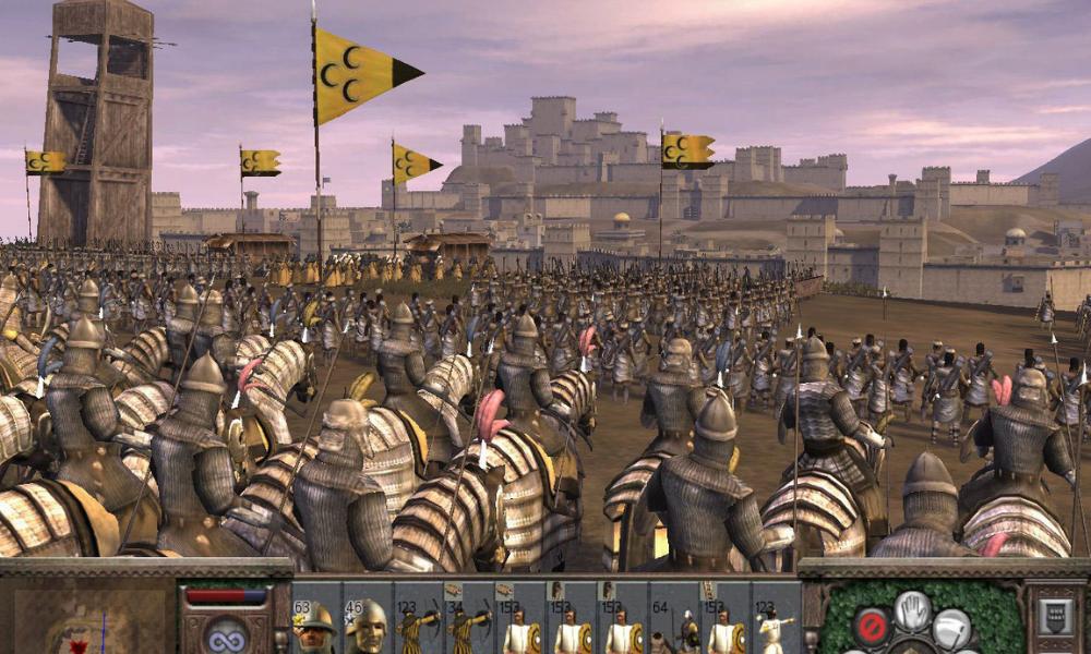 Medieval total war purple blue