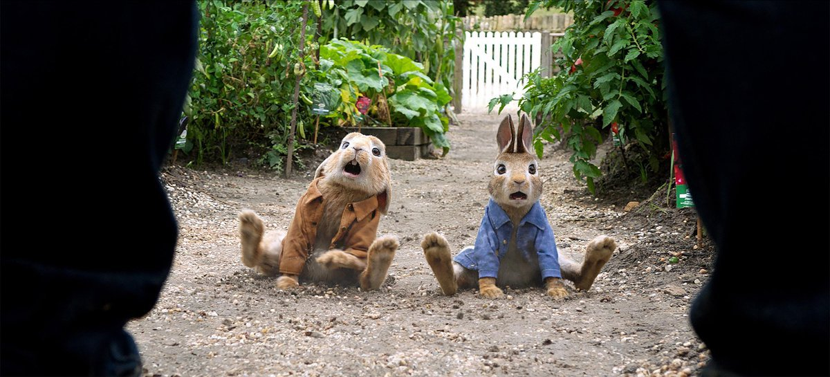 VFX in Peter Rabbit