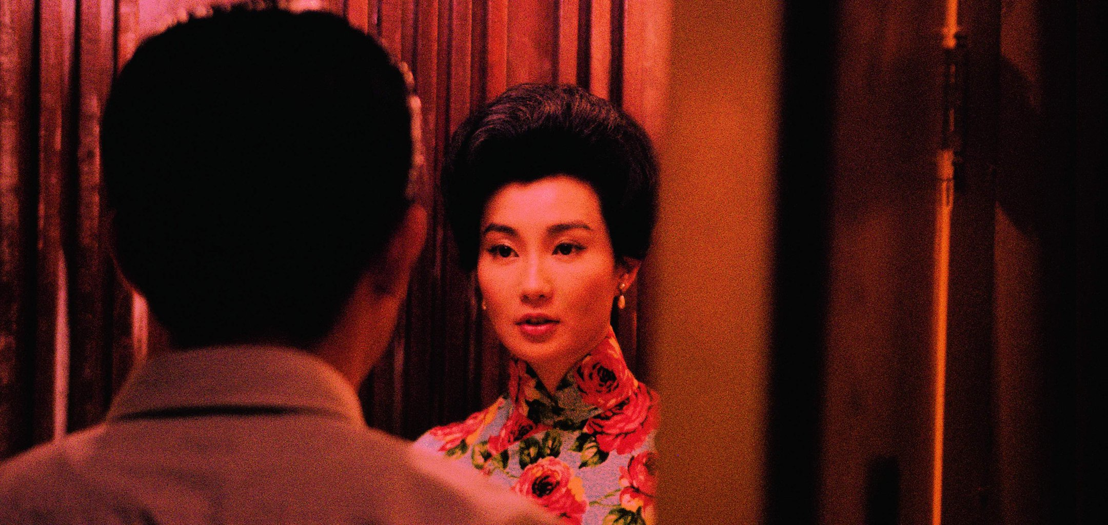 In The Mood For Love - Tony Leung and Maggie Cheung neon