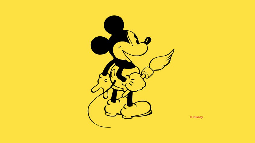 Mickey Mouse sketch - Disney: The Magic of Animation