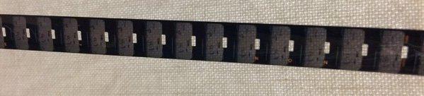 9.5mm film laid horizontal