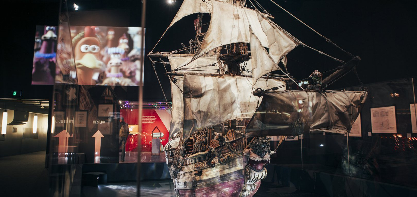 ACMI Aardman exhibition ship