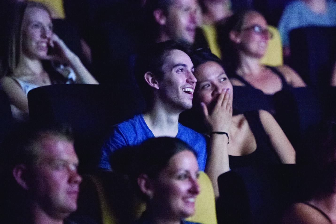 ACMI White Night 2013 - a couple watches a film -  Image Mark Gambino.jpg