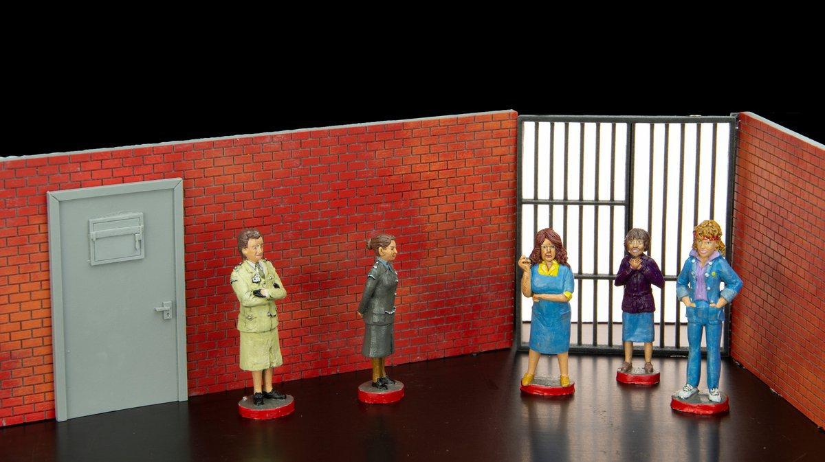 Prisoner cast figurines