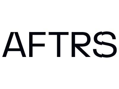 AFTRS logo - black and white