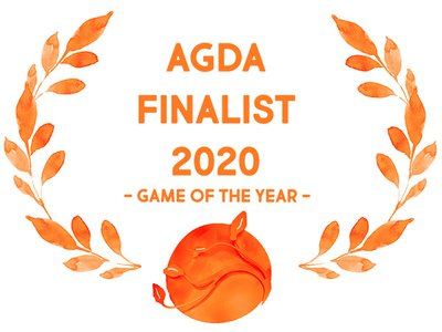 AGDA Finalist 2020 - Game of the Year