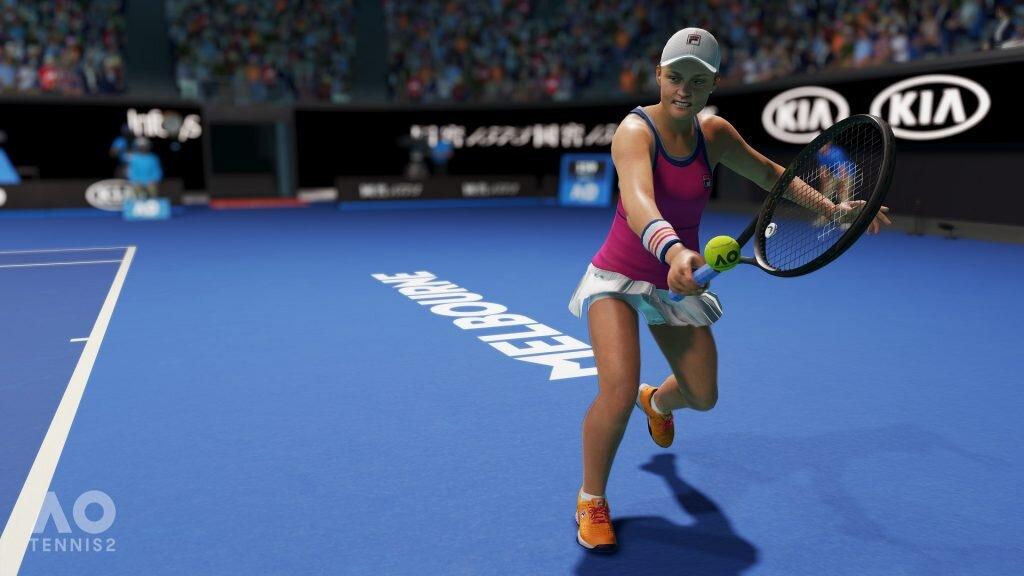 AO Tennis 2 close-up