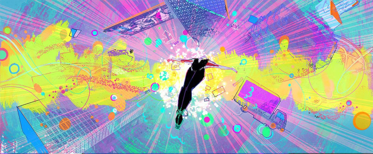 A still from Into the Spiderverse - Image courtesy of Dave Bleich - hero image 2