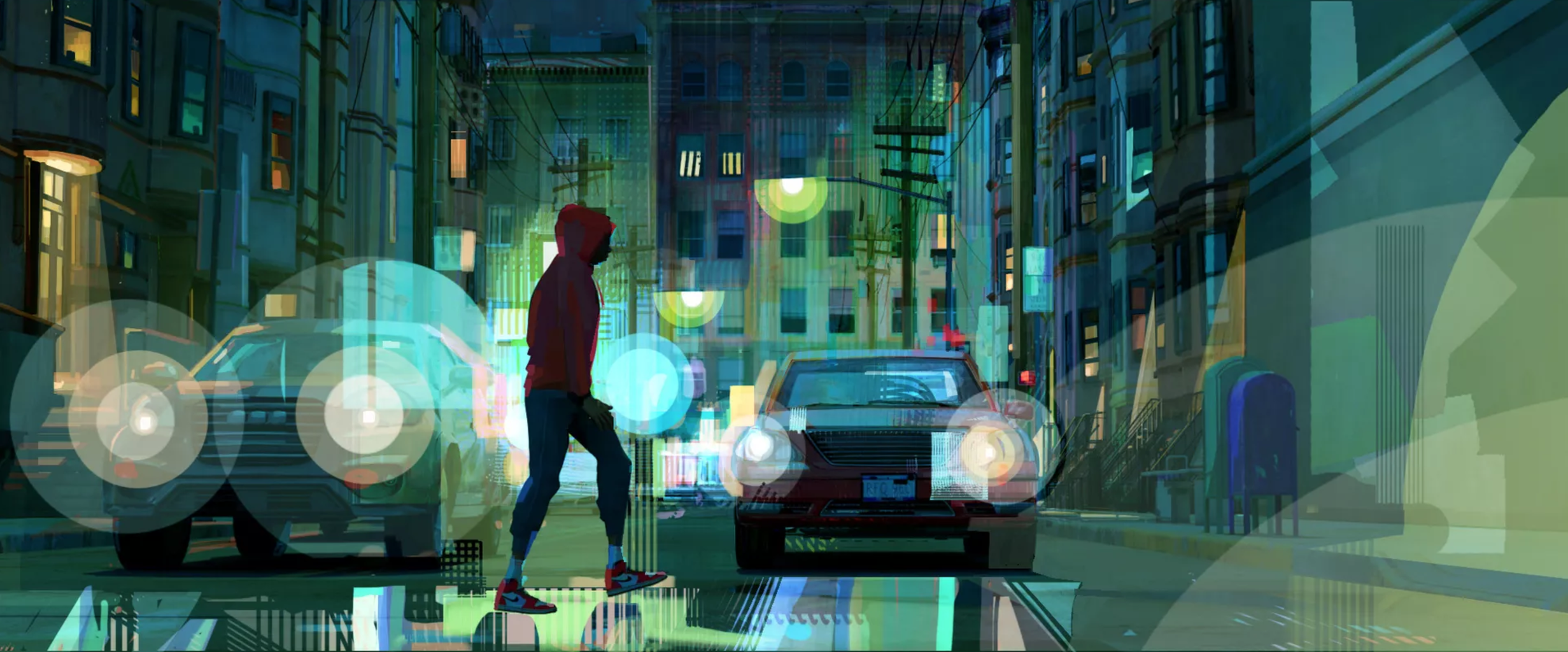 A still from Into the Spiderverse - Image courtesy of Dave Bleich - hero image 1