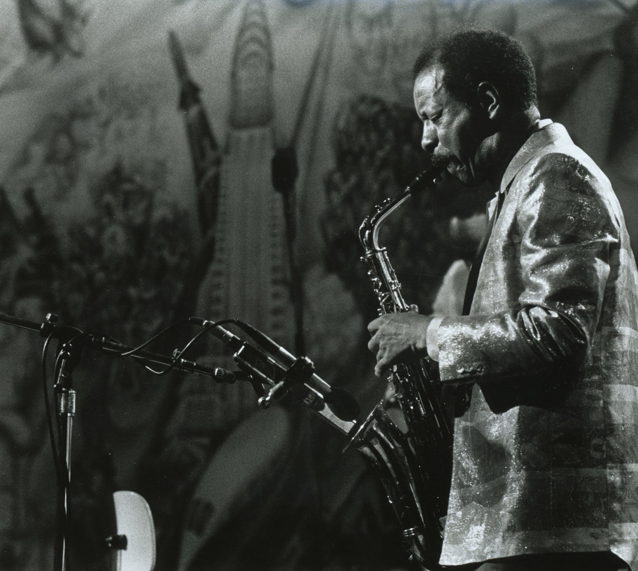 Ornette Coleman in a still from 'Ornette: Made in America' (1985)