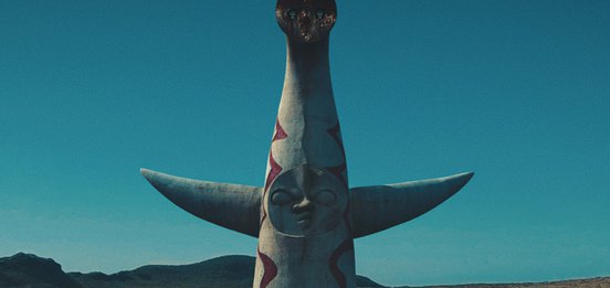 A still from Tower of the Sun