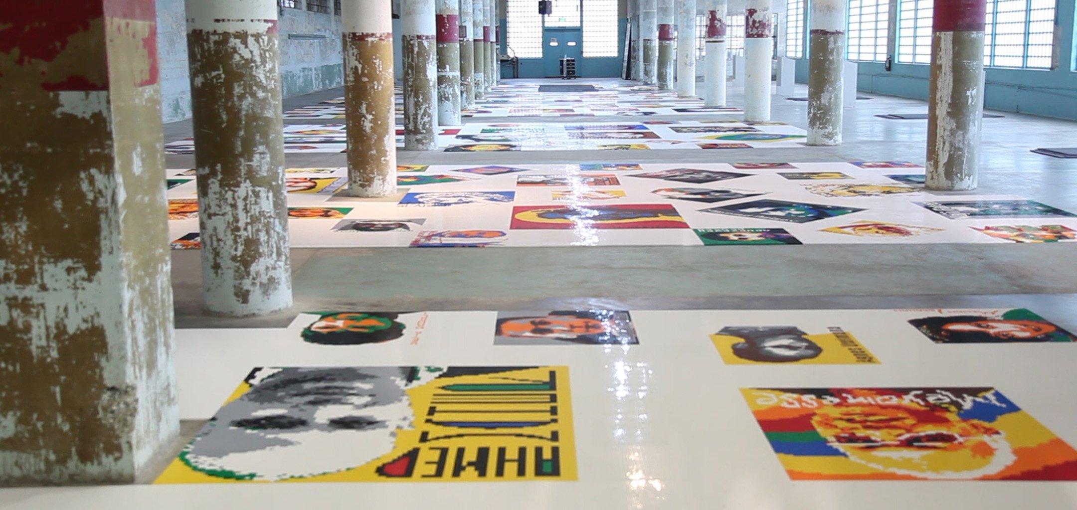 Ai Weiwei Yours Truly still from inside Alcatraz Prison