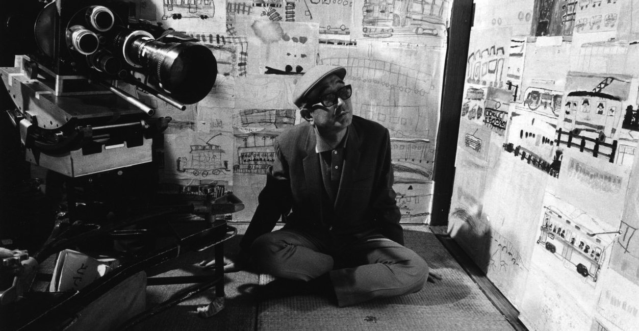 Akira Kurosawa - On the set of Dodes'ka-den (1970)