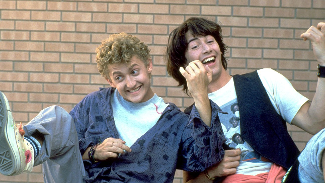 Alex Winter and Keanu Reeves in 'Bill & Ted's Excellent Adventure' (2020)