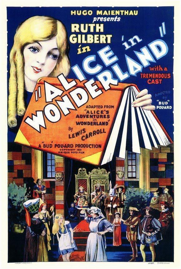Alice in Wonderland - 1931 poster
