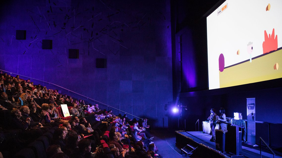 Cinema ACMI Screen It students