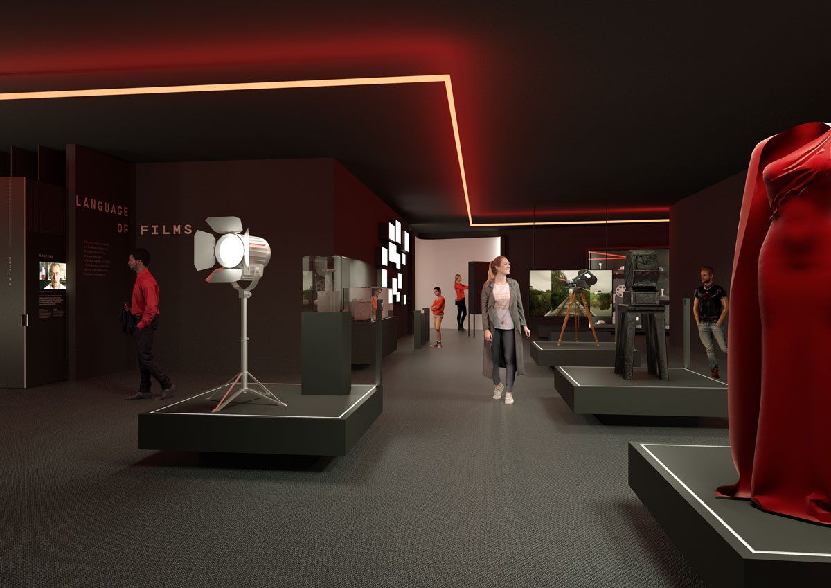 Artists impression of ACMI's new exhibition space 2