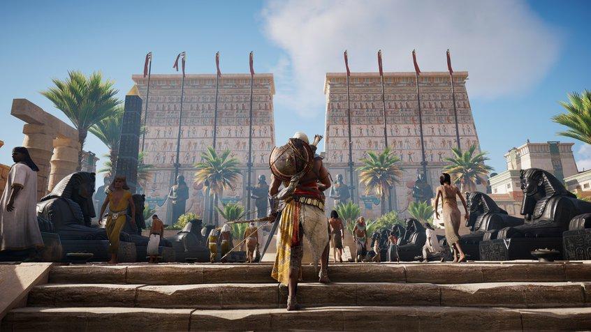 Assassins Creed Odyssey press kit image