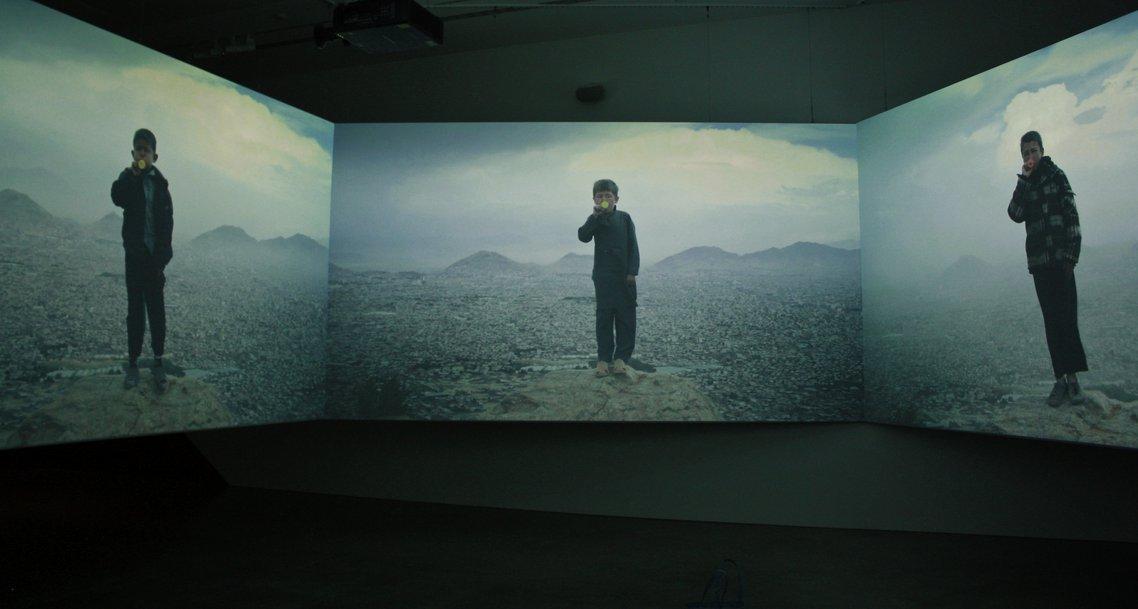 Aziz Hazara, 'Bow Echo' (2019) MCAA