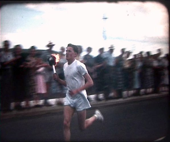 Amazing Amateurs. Nicoll Family Home Movies. Running the Olympic Flame