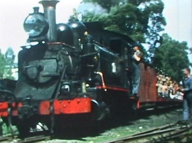 Amazing Amateurs. Fred's Films: The Train that refused to die: Puffing Billy
