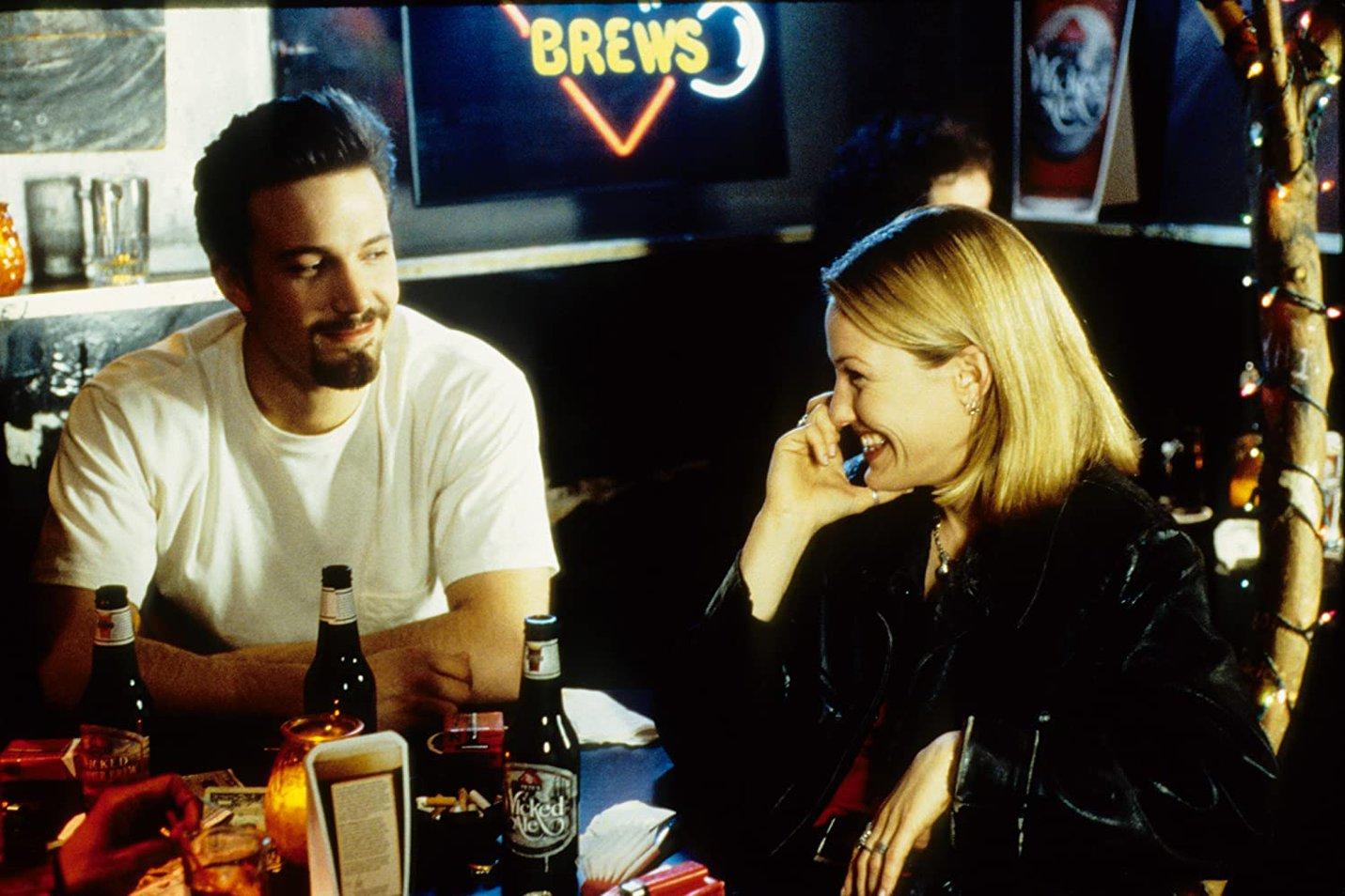 Ben Affleck and Joey Lauren Adams in 'Chasing Amy' (1997)