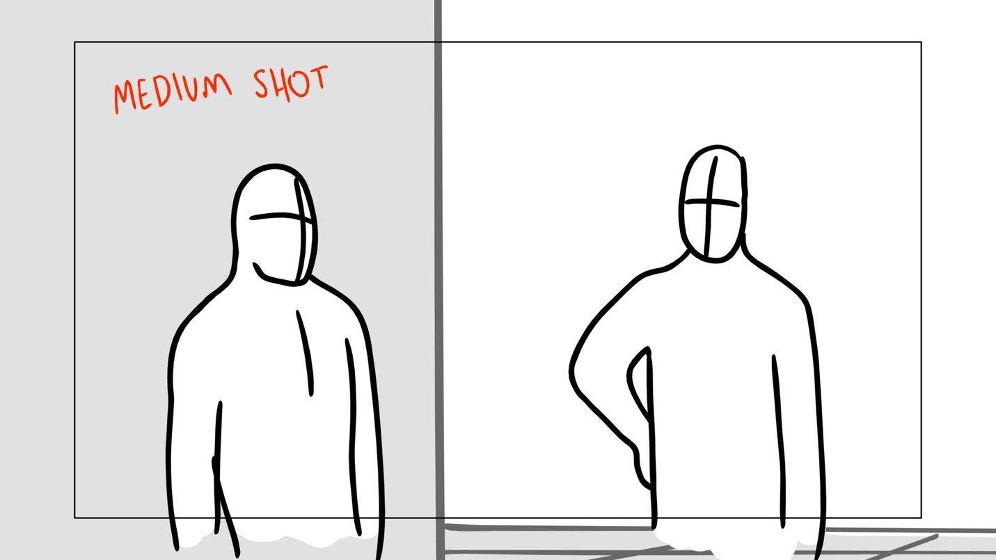 Storyboard medium shot