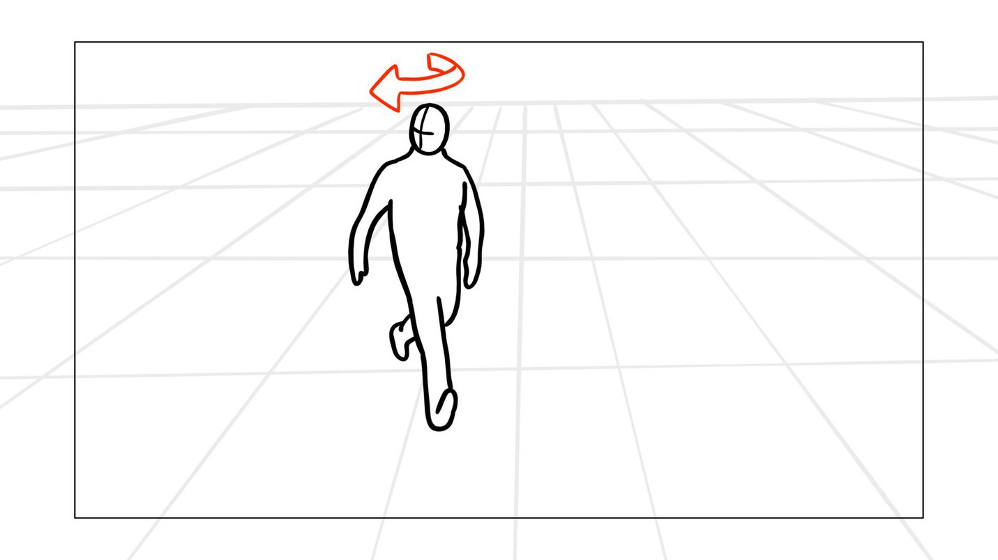 Storyboard arrow character 2