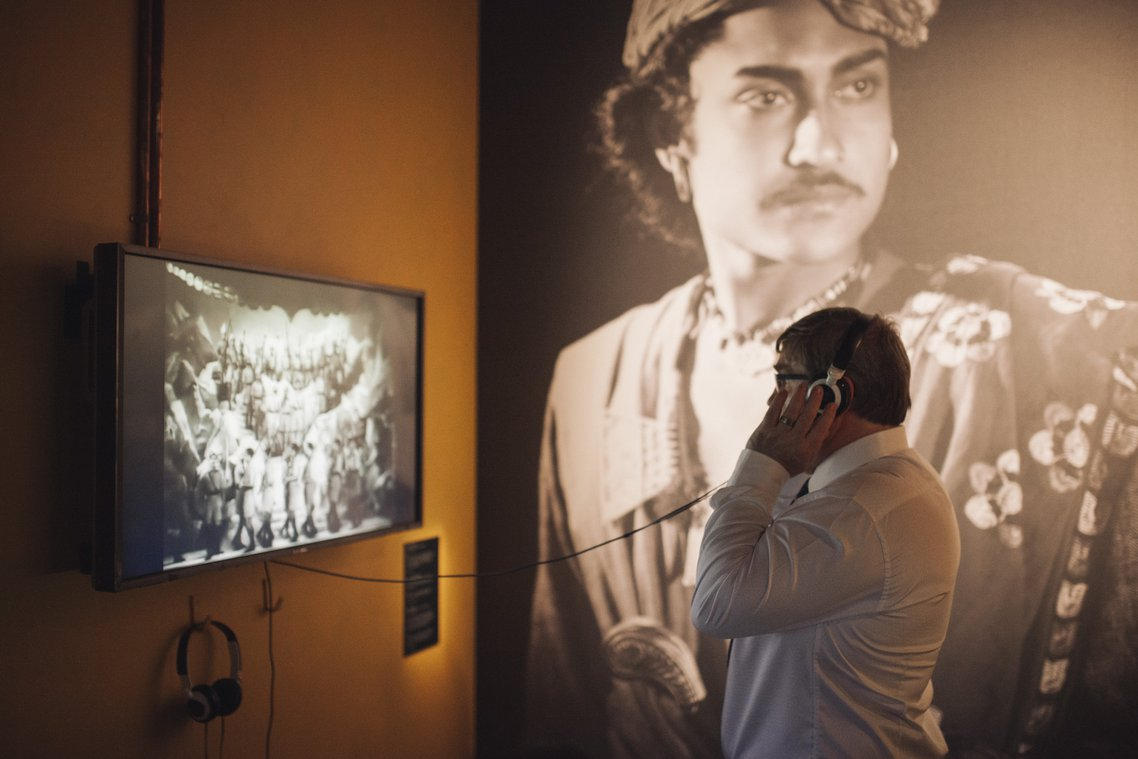 Bombay Talkies exhibition - image courtesy of Charlie Kinross
