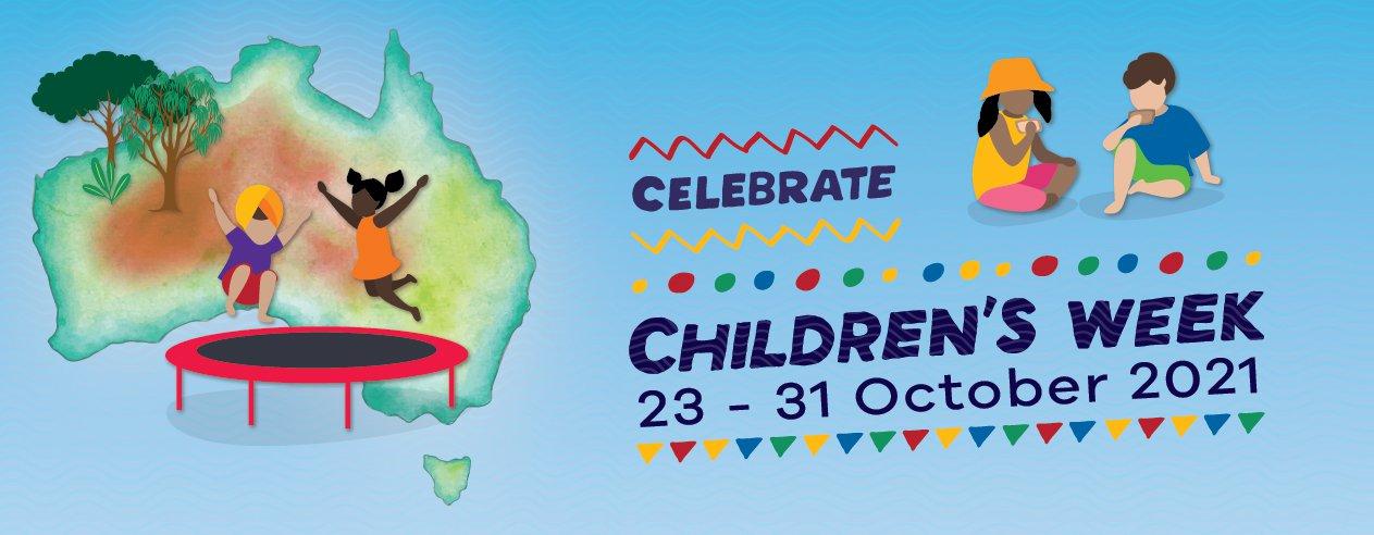 Children's  Week 2021 - website banner