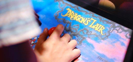 Closeup up Dragon's Lair joysticks - photograph by Gareth Sobey.jpg
