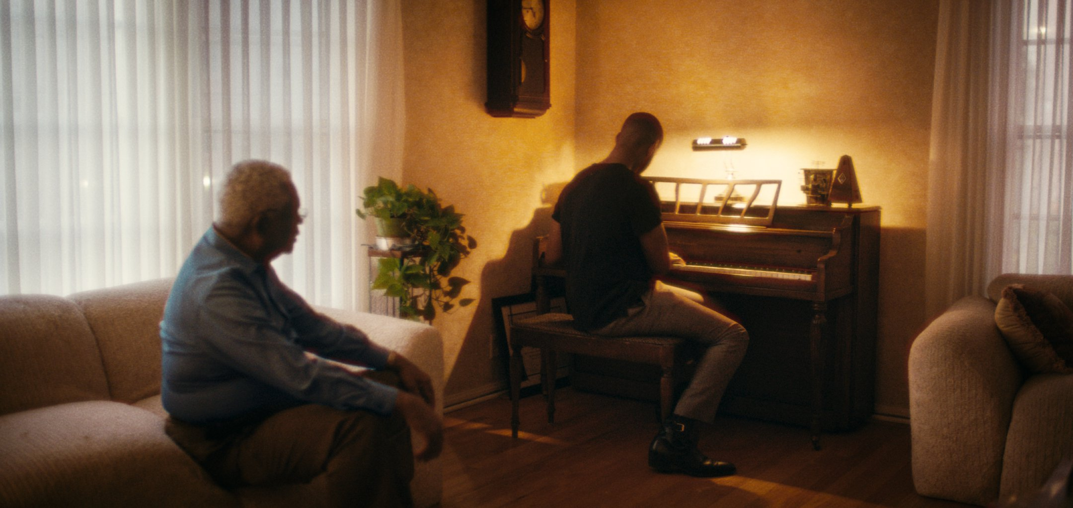 Still from A Concerto is a Conversation