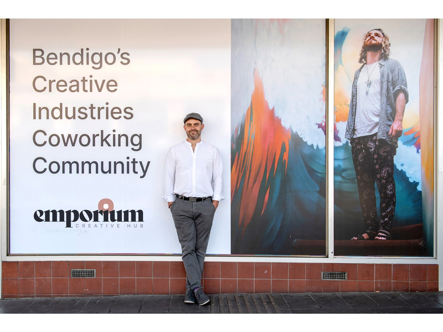 Dave Hughes, Emporium Creative Hub Manager