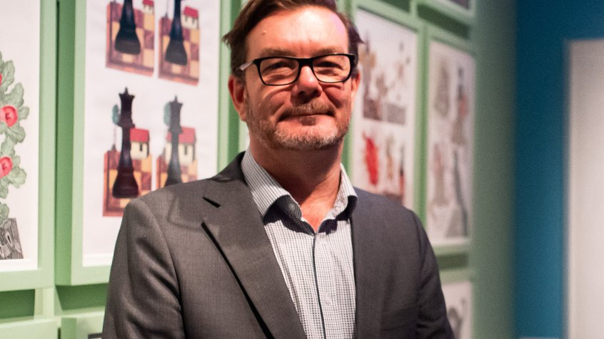 Director of Exhibitions and Touring Chris Harris - CTA