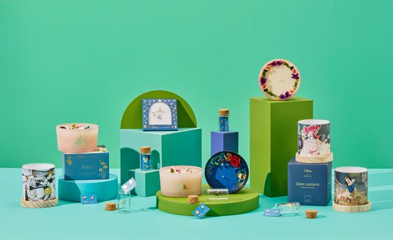 ACMI Shop items from the Disney x Short Story collaboration - green and teal colour scheme