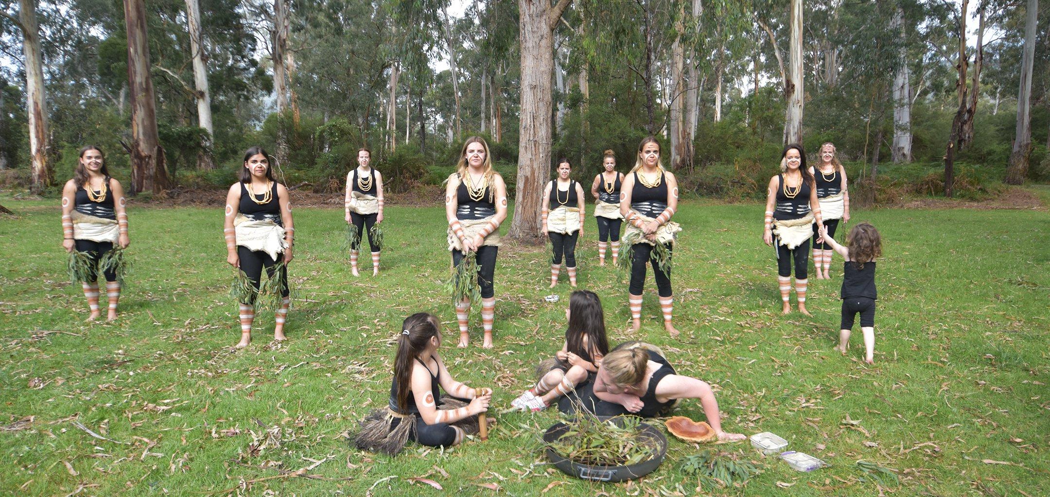 Djirri Djirri Dance Group, Courtesy Mandy Nicholson - hero image
