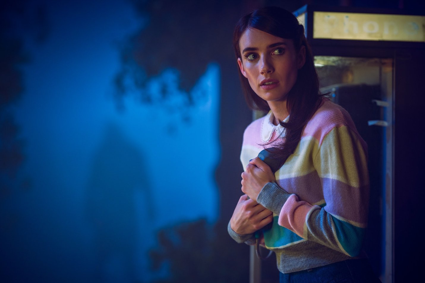 Emma Roberts as Madison Montgomery in a still from 'American Horror Story - 1984'