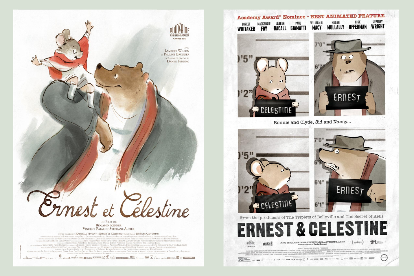 Ernest Celestine posters