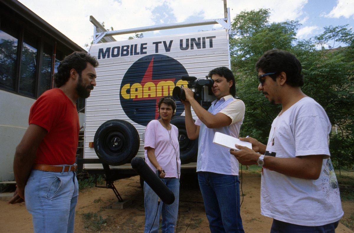 CAAMA mobile TV unit