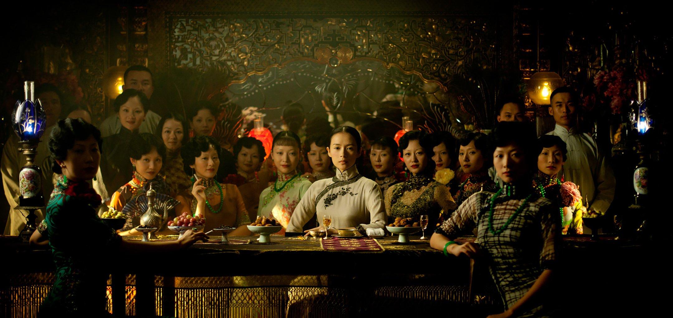 Zhang Ziyi in The Grandmaster