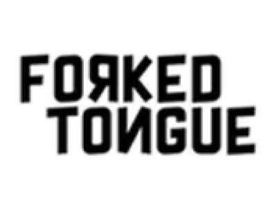 Forked Tongue logo - white background