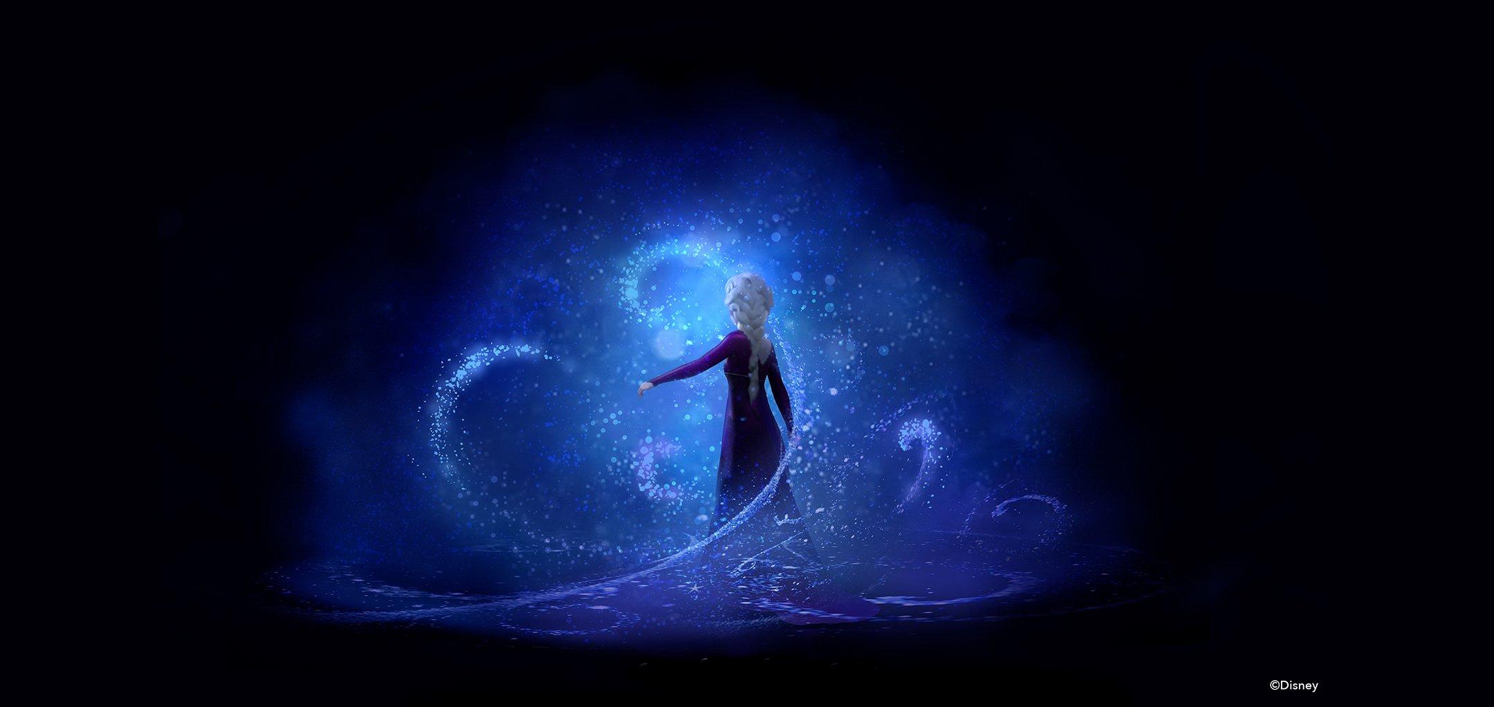 Frozen 2 (2019) Lisa Keane, Concept Art, digital painting. © Disney