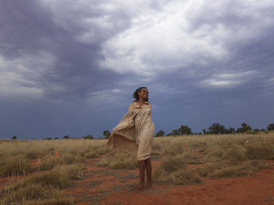 Shanika Cole as Lucy in Sweet Country. Image: Tamara Dean