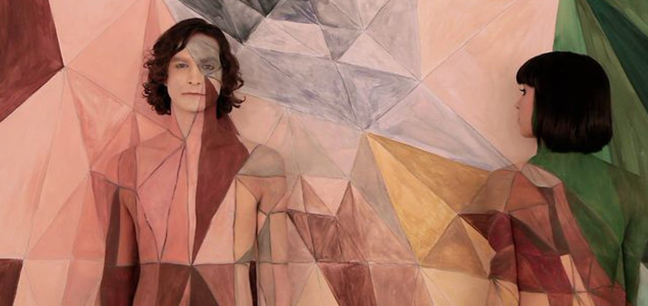 Gotye and Kimbra in the videoclip for Somebody That I Used to Know