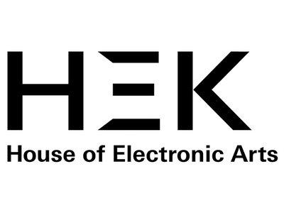 HEK - House of Electronic Arts logo