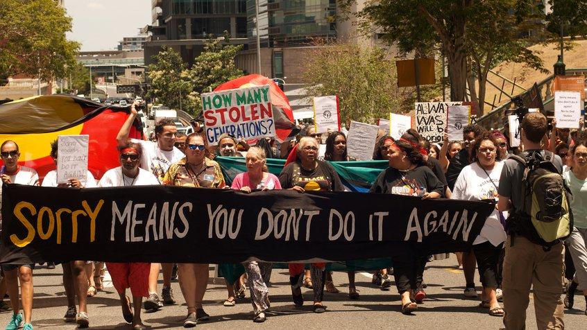 Human Rights Arts & Film Festival (HRAFF) - protest still