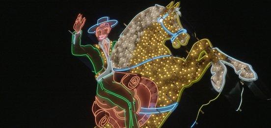 Hacienda Horse and Rider - Neon (2015) - Hero image