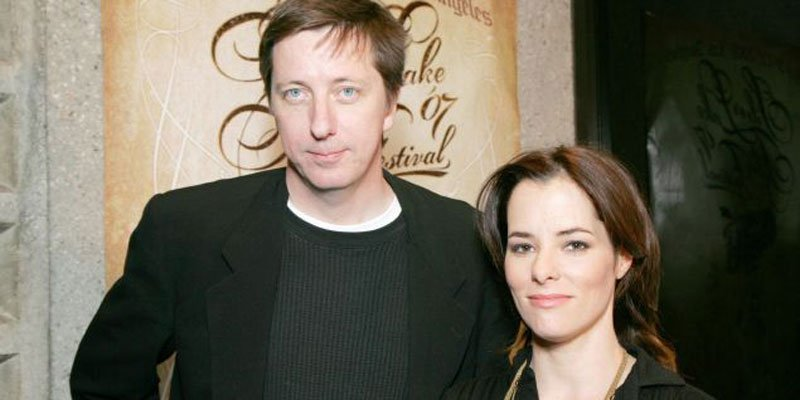 Hal Hartley and Parker Posey