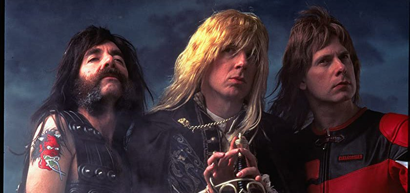 Harry Shearer, Michael McKean, and Christopher Guest in 'This Is Spinal Tap' (1984)