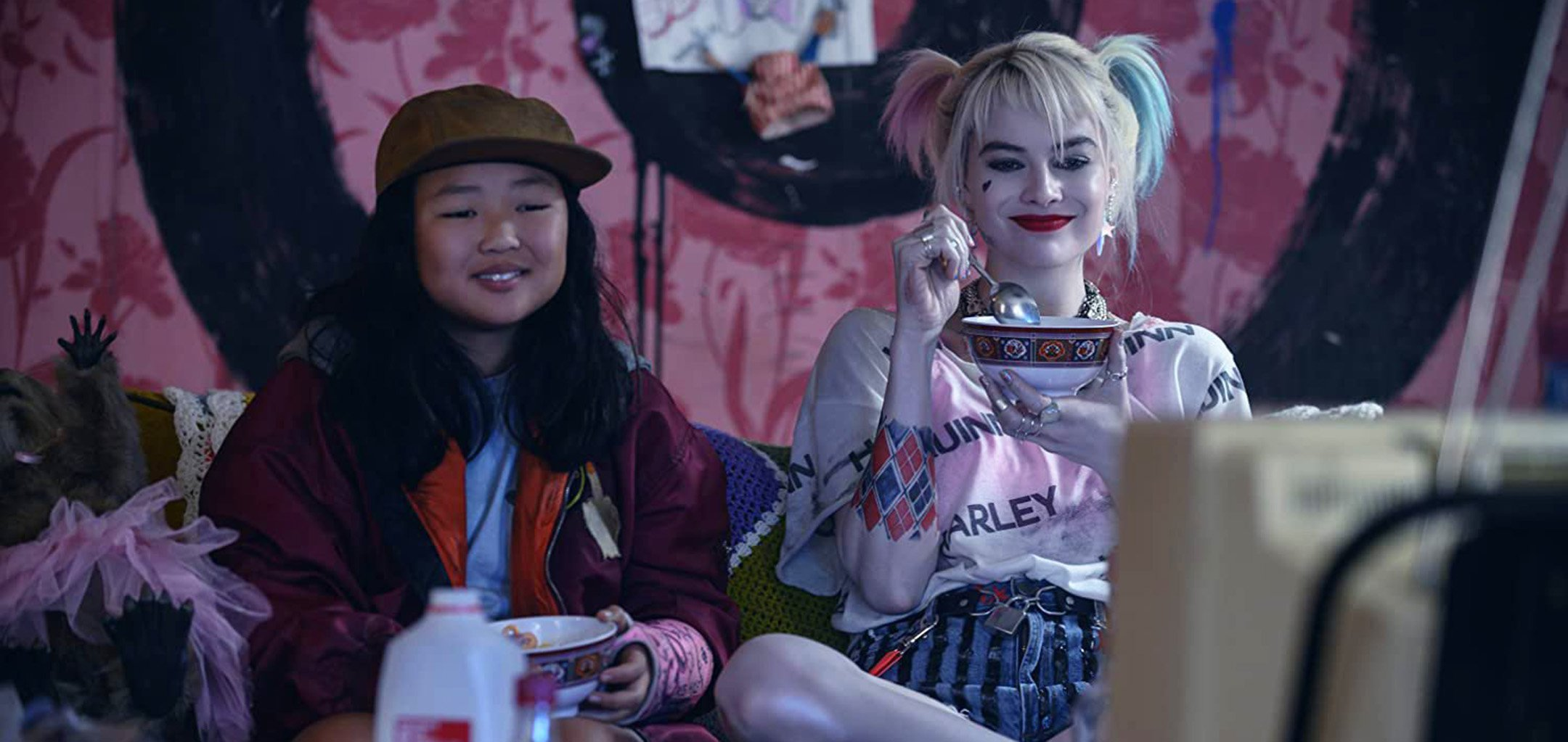 Hero image - Ella Joy Basco and Margot Robbie in Birds of Prey
